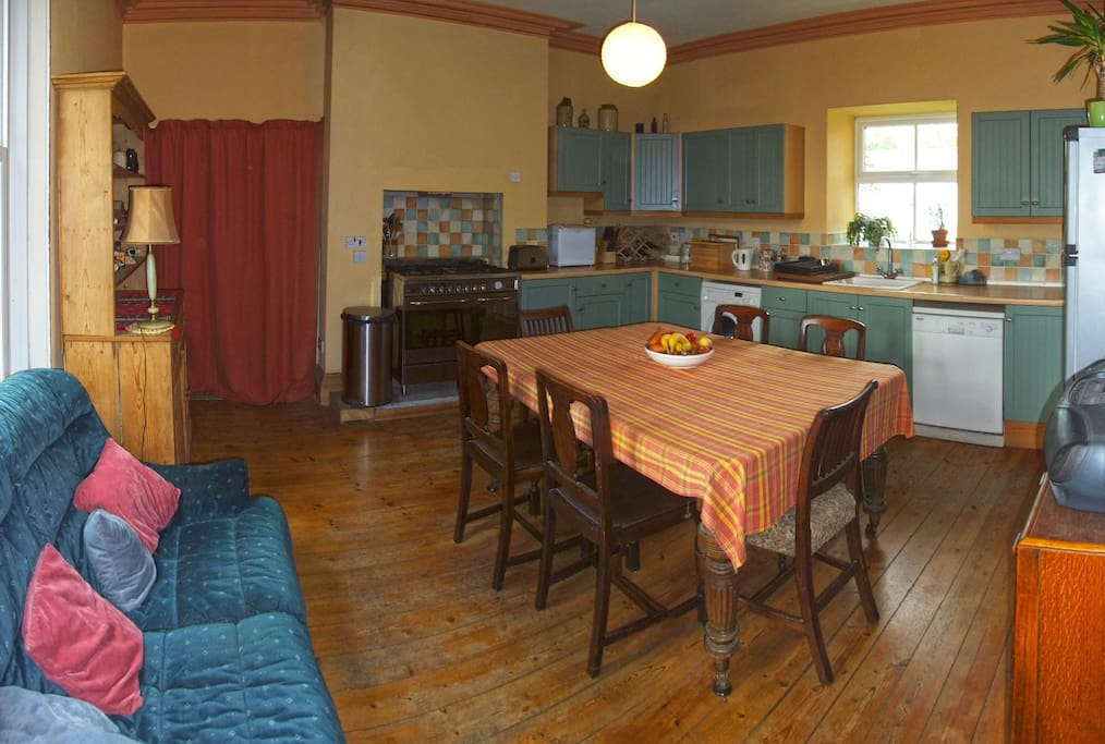 Main Kitchen for B&B Clients