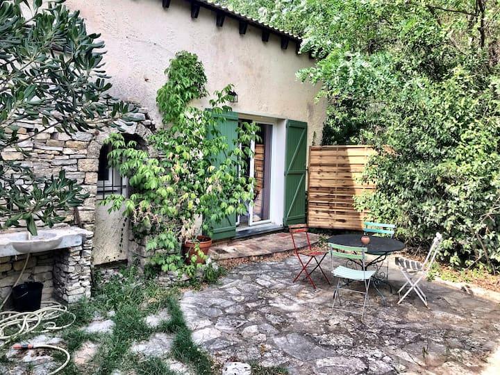 Maison jardin calme, proche Montpellier, plage