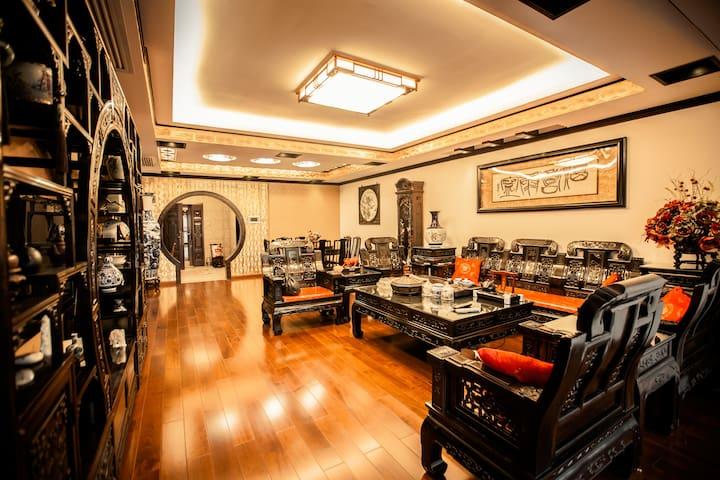 客厅全景 (Overview of living room)