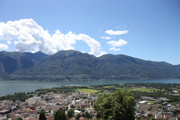 the best view in locarno and ascona