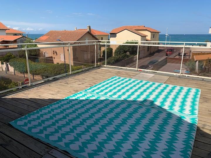 Magnifique duplex avec rooftop vue ocean
