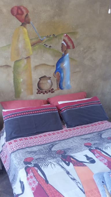 chambre femme africaine