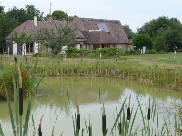 le charme d'une propriété en pleine nature