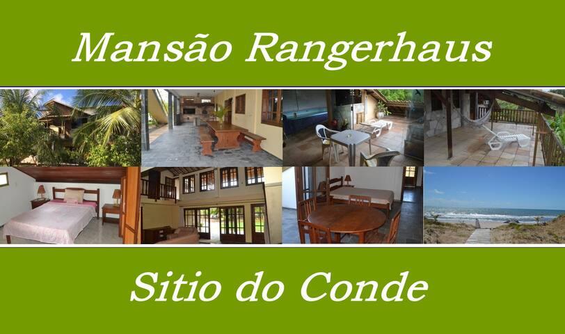 Mansão 5 suites  Sitio de Conde - Conde - Casa