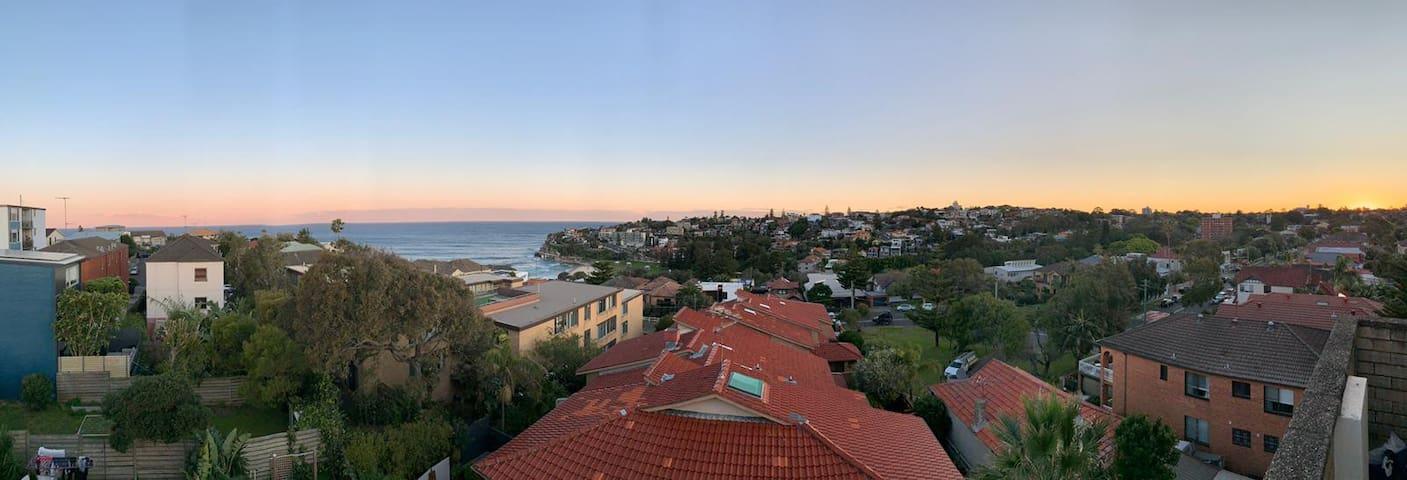 Panoramic Ocean Views of Bronte Beach!