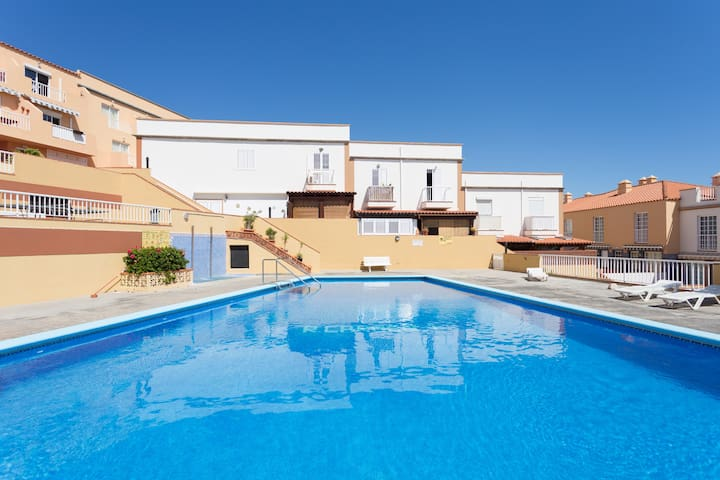 Two terraces pool and beach - Candelaria - Appartement