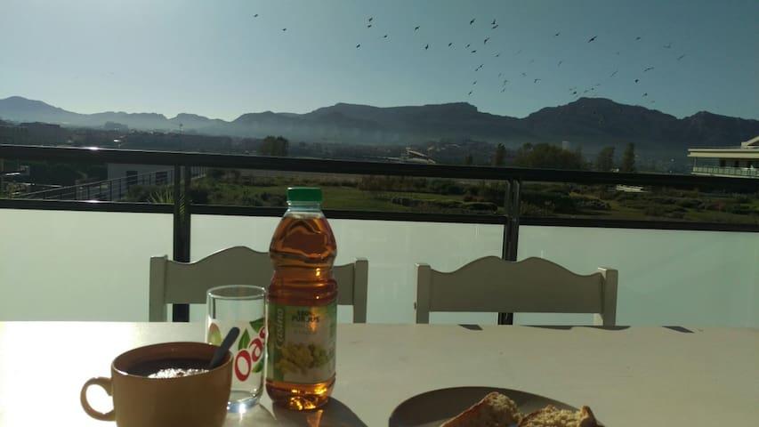 Bel appartement terrasse, plage à proximité Prado - Marseille - Lejlighed