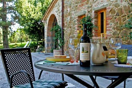 Villa Ceppeto Il Granaio - モンテサンサヴィーノ