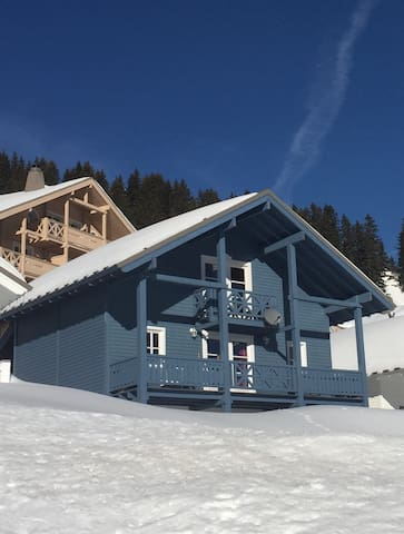 Chalets in arâches la frasse