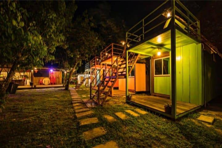 Camp KP, Kuala Penyu Beach, Sabah. (Room 5)