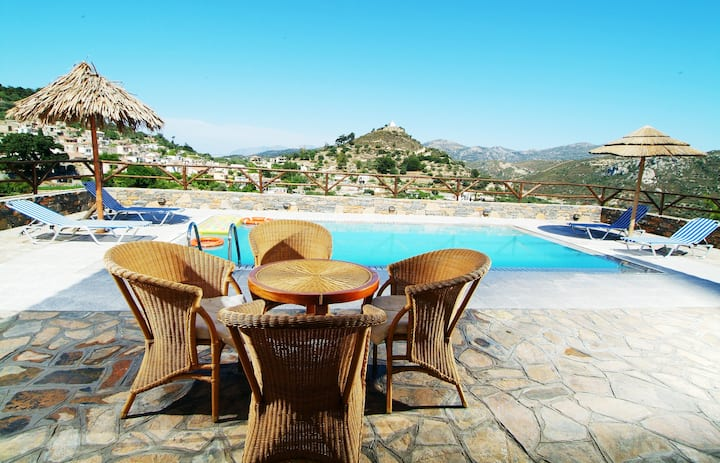 Feel the Calmness in the Village at Nikoleta Villa