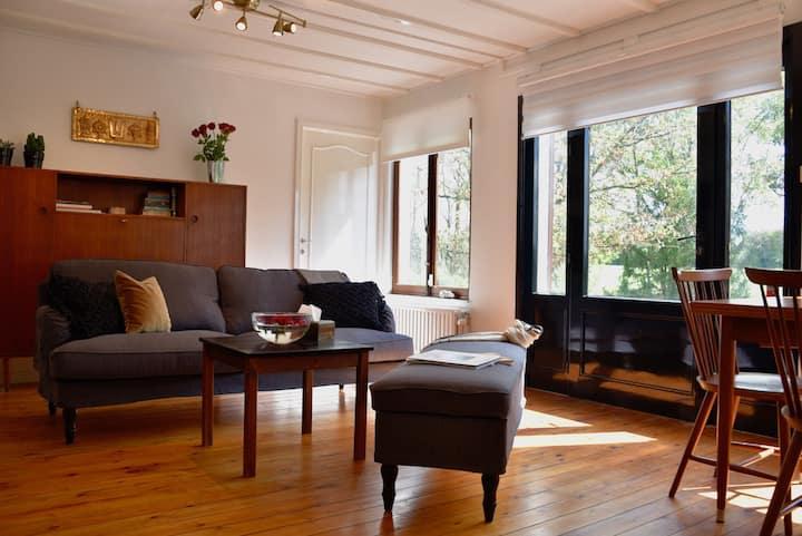 Eco-luxe relaxing Villetta +Large Zen Garden +WIFI
