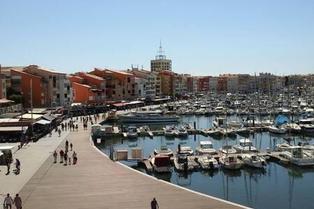 Cap d'Agde Appartement 3 chambres  Port Brescou - Agde - Apartment