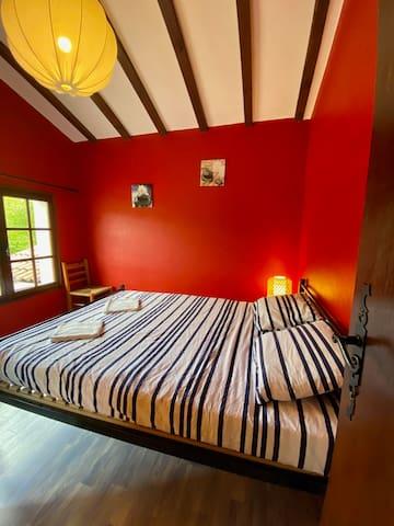 Chambre double 1er étage.