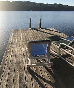 Rustic 3-Bdrm Cottage on Beautiful Charleston Lake
