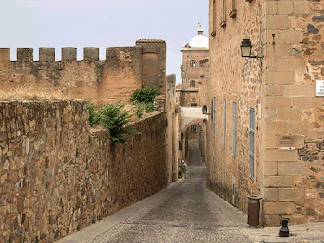 Ciudad Patrimonio de la Humanidad - Cáceres - Wohnung