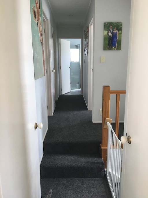 Hallway (and our new carpet! Dec 16)