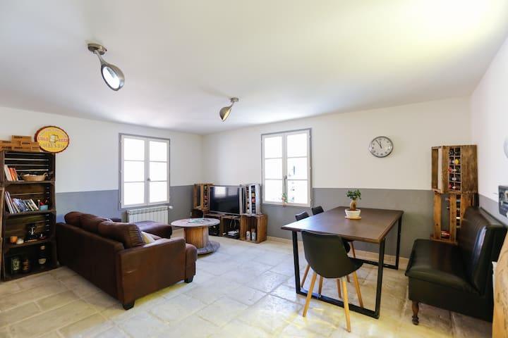 Maison de village - 55m² - Pernes-les-Fontaines - Casa