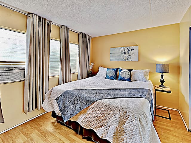 Master Bedroom with King size bed for a good night's rest.