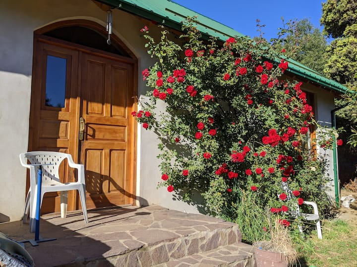 Casa acogedora y cálida entre 3 lagos con jardín