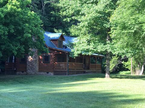 Telliquah Falls Log Cabin (Creekside Melody)