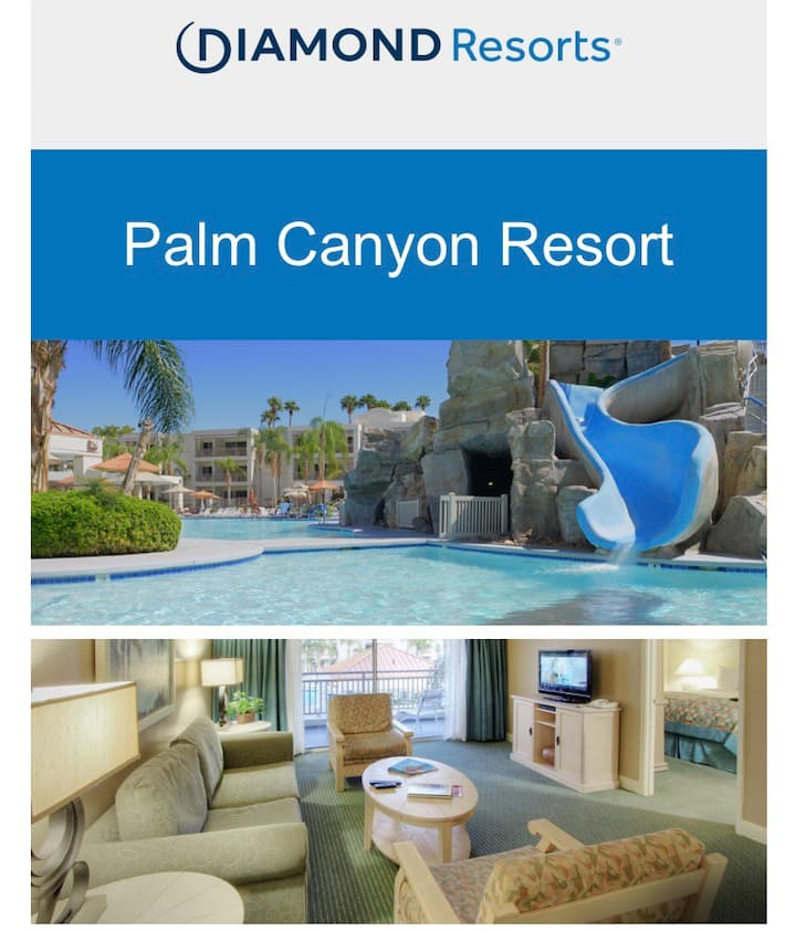 Palm Canyon Resort with Full Kitchen