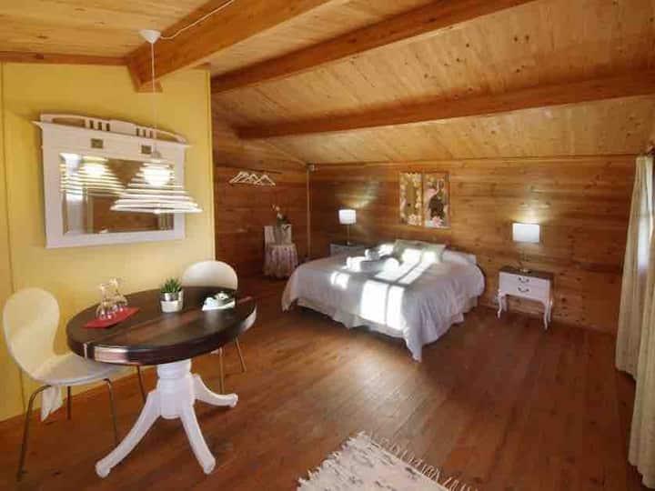 El Blanco  Romántica cabaña de madera