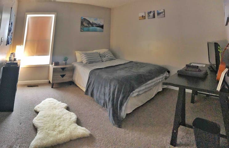 Cozy 1 bedroom/bath near WVSOM/I-64