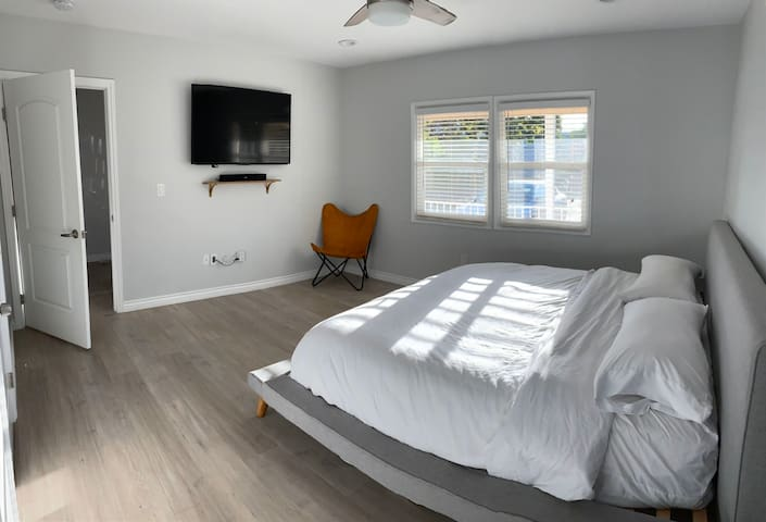 Spacious master bedroom in NOHO
