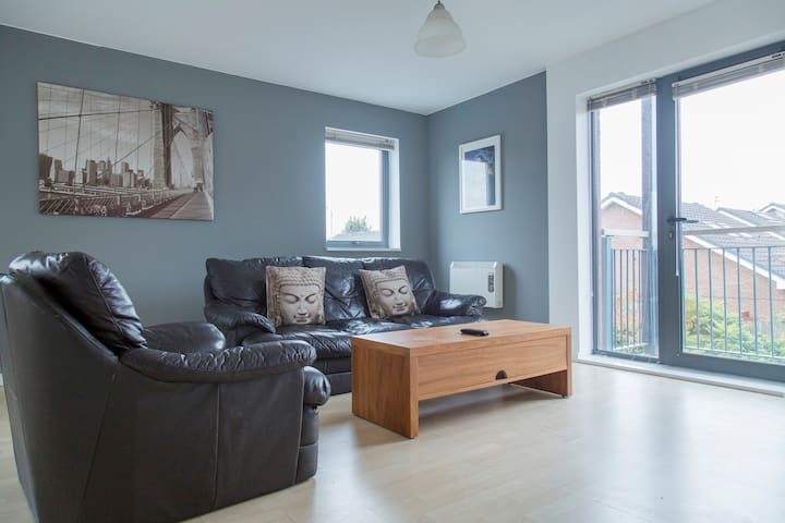 Amazing 2 bed apartment near Old Trafford and city - Salford - Appartement