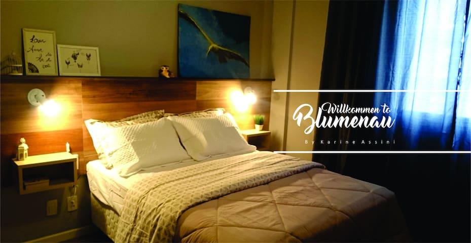 Próximo a Vila Germânica - Blumenau 01 - Blumenau - Apartment