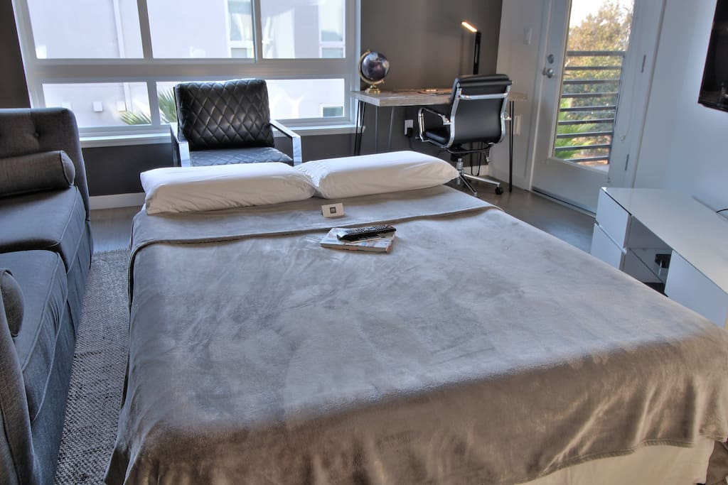 Should you need it - a Queen Air-Bed is Included