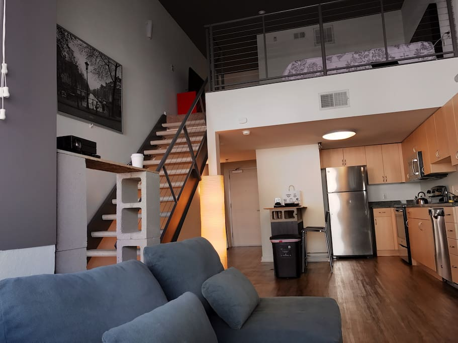 Urban style loft in downtown gaslamp with parking lofts - Loft industriel san diego californie ...