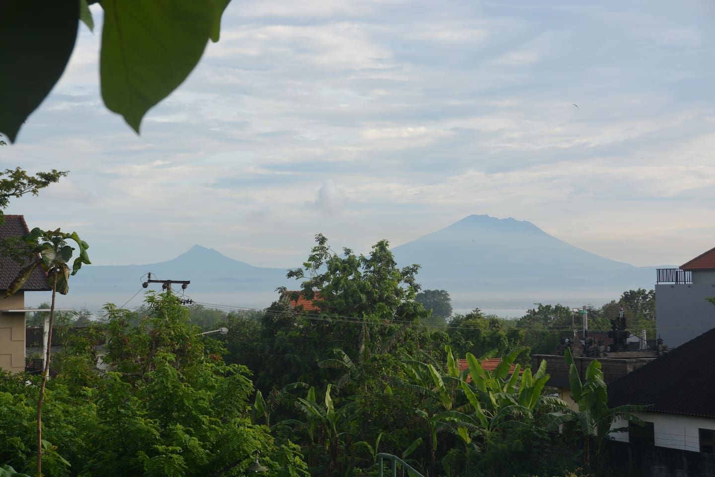 View from Villa Jati