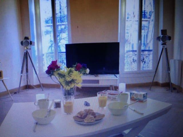 Komfortable ferienwohnung - Cherbourg-Octeville - Apartamento