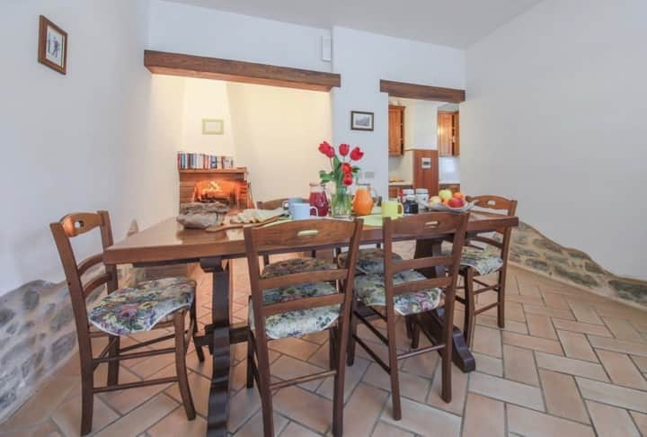 Agriturismo Niccone, apartments with spa and pool, Apartment Granaio