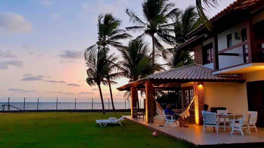 Um paraíso na Ilha de Itaparica.