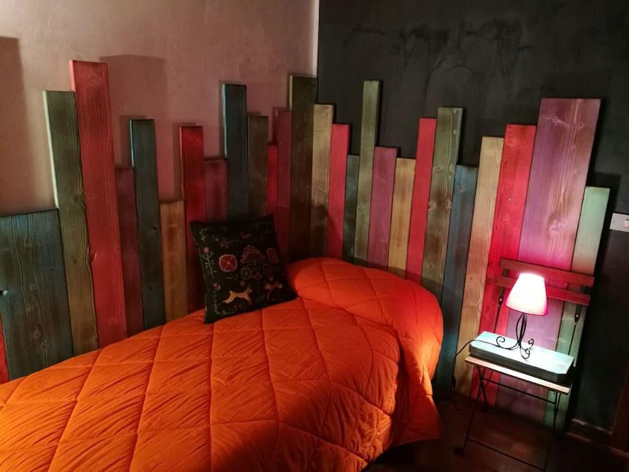 Rainbow in the Night Bedroom