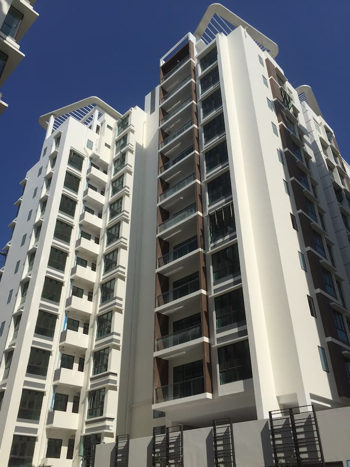 Affordable Condo flat for long stay