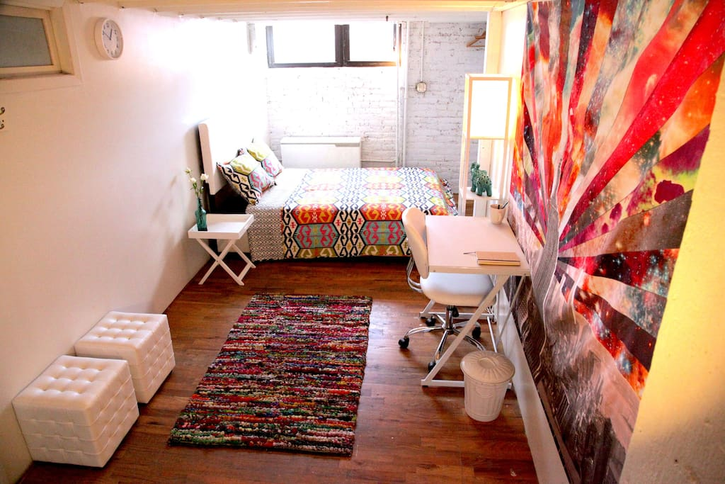 Cozy private room in williamsburg greenpoint loft lofts for Loft en francais