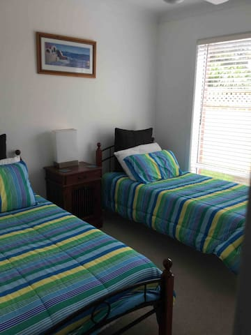 Second bedroom can be a king or two long singles, please advise which option you would like upon booking.