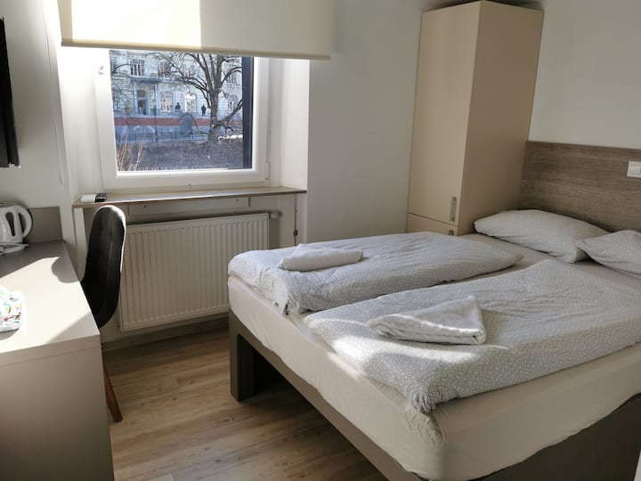 Double room with Ljubljana city view