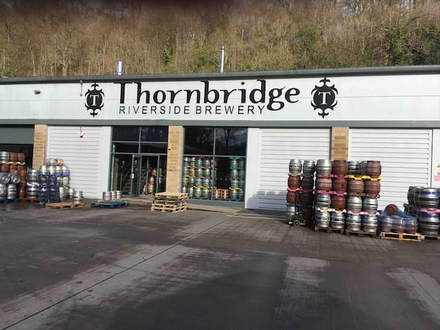 This brewery produces many award winning beers and only 5 minutes walk from our house towards Bakewell it is well worth visiting the Tap Room.