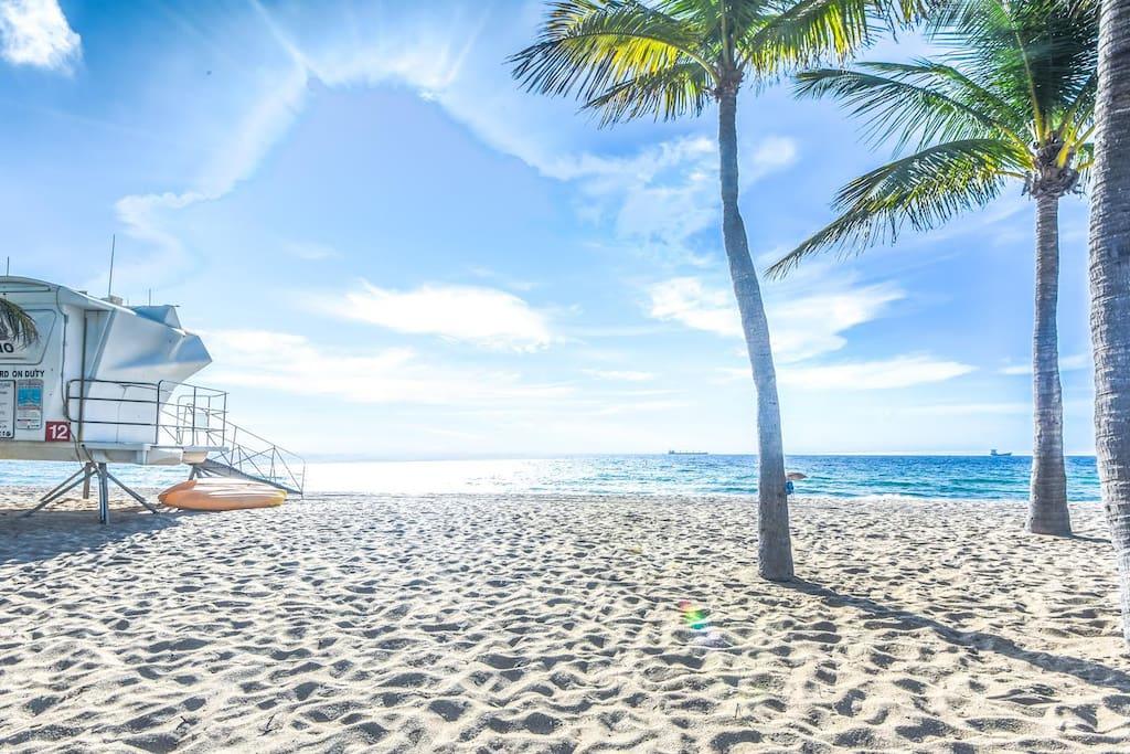Imagine our beaches. Just a short walk away!