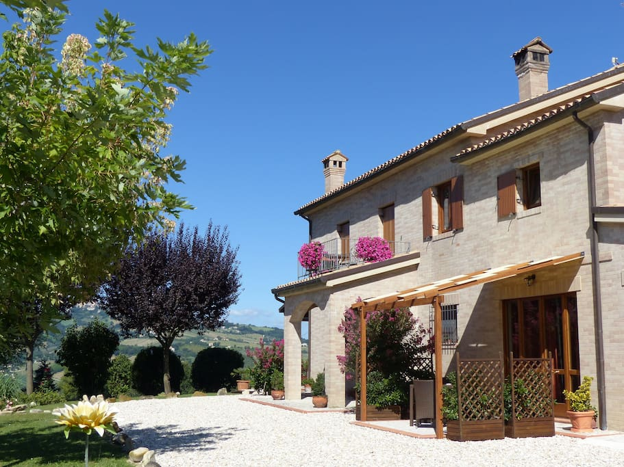Villa Miramonti is set in landscaped gardens - a tranquil location!