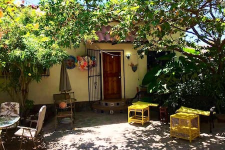 2BR Peaceful Casita-heart of Mulege, on the river