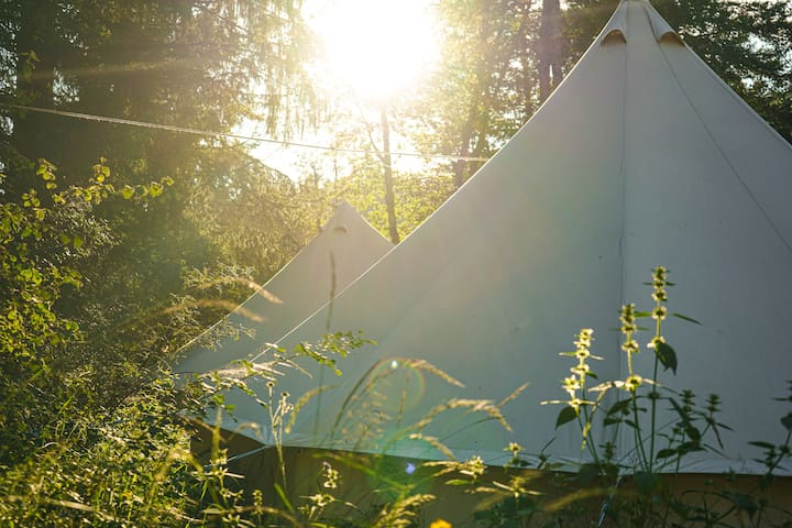 Private Tipi - Glamping in Scuol