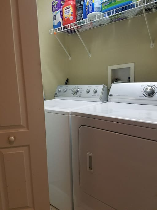 washer and dryer use