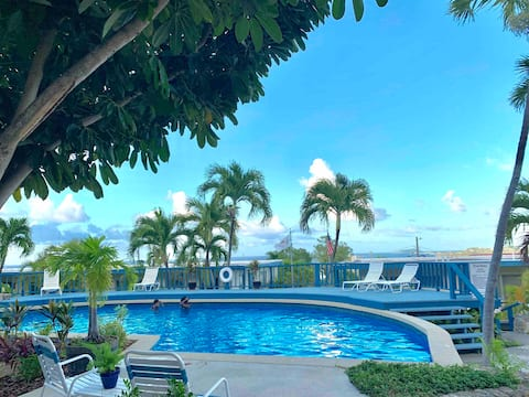 Condo II w/ AC, Pool & Views. Clean,Secured,+Value