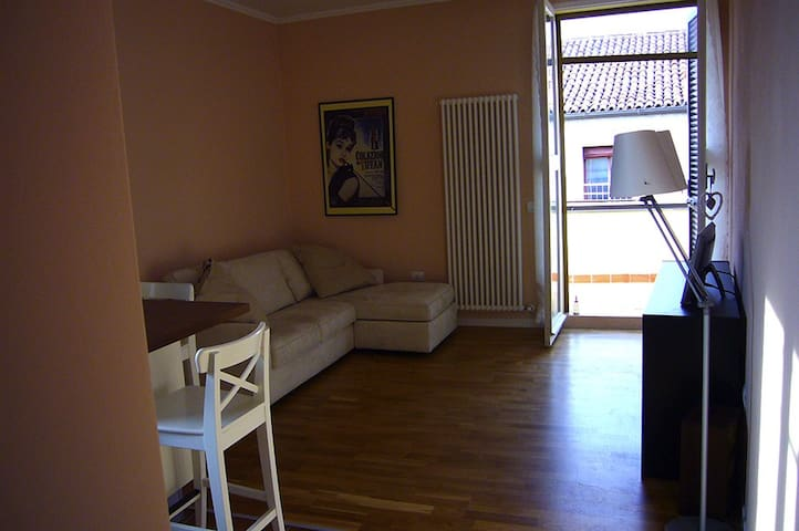 """Anastasia's apartment"" Romantic heart of Ferrara - Ferrara - Leilighet"